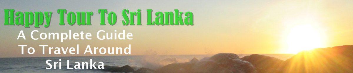 tour guide to sri lanka