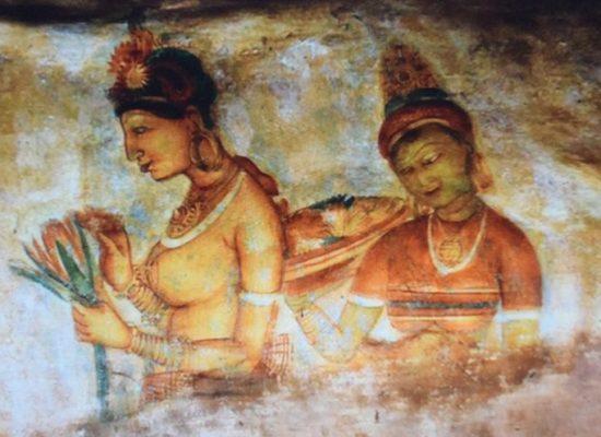 sigiriya paintings